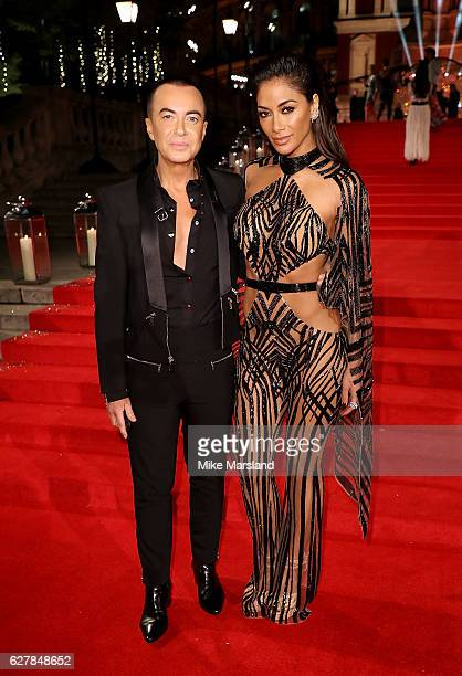 Julien Macdonald and Nicole Scherzinger attend The Fashion Awards 2016 on December 5 2016 in London United Kingdom
