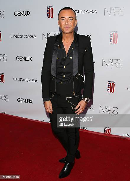 Julien Macdonald attends Genlux Magazine hosts BritWeek Designer Of The Year fashion show honoring Julien Macdonald on May 05 2016 in Culver City...