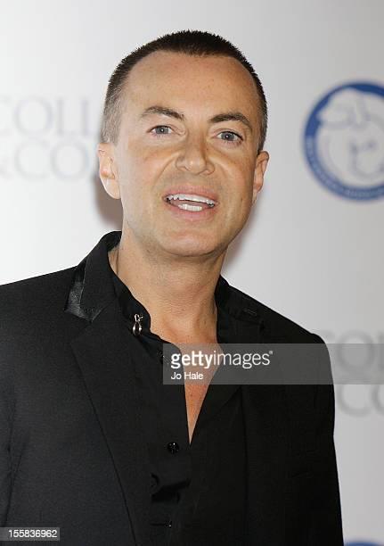 Julien Macdonald attends the Collars Coats Gala Ball at Battersea Evolution on November 8 2012 in London England