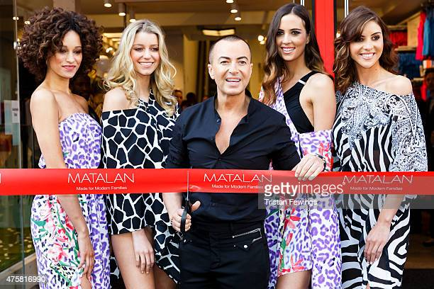 Julien Macdonald opens Matalan's Oxford Street store on June 4 2015 in London England