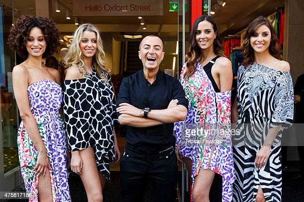 Julien Macdonald opens Matalan's Oxford Street store on June 4 2015 in London England