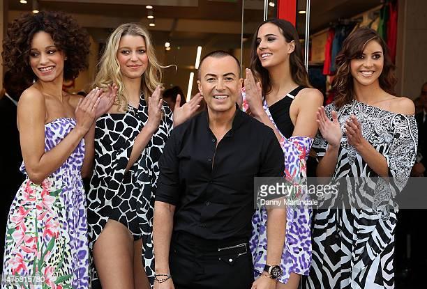 Julien Macdonald opens the Matalan's Oxford Street Store on June 4 2015 in London England