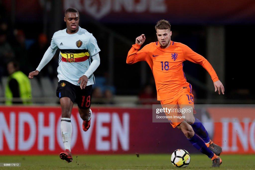 Holland U21 v Belgium U21 : News Photo