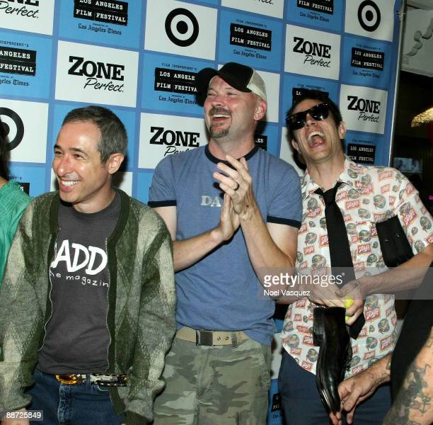 """Julien Nitzberg, Storm Taylor and Johnny Knoxville attend the 2009 Los Angeles Film Festival's screening of """"The Wild and Wonderful Whites of West..."""