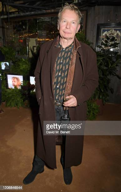Julien Temple attends the launch of new positive media platform 'whynow' at Petersham Nurseries on March 12 2020 in London England