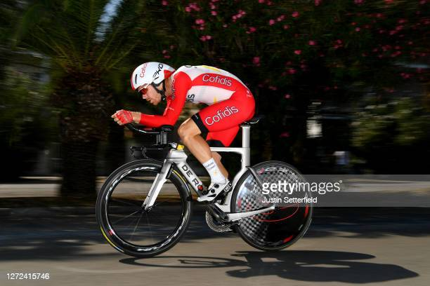 Julien Vermote of Belgium and Team Cofidis / during the 55th TirrenoAdriatico 2020 Stage 8 a 101km Individual Time Trial in San Benedetto del Tronto...