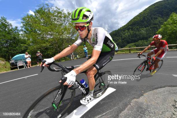 Julien Vermote of Belgium and Team Dimension Data / during the 105th Tour de France 2018 Stage 16 a 218km stage from Carcassonne to BagneresdeLuchon...