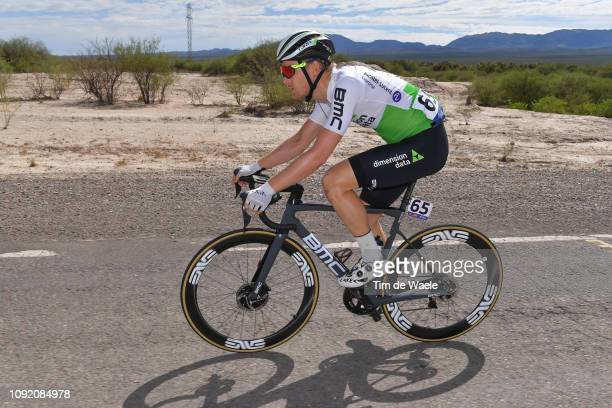 Julien Vermote of Belgium and Team Dimension Data / during the 37th Tour of San Juan 2019 Stage 5 1659km stage from San Martín to Alto Colorado 2565m...