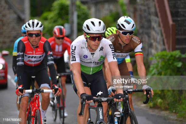 Julien Vermote of Belgium and Team Dimension Data / during the 71st Criterium du Dauphine 2019 Stage 1 a 142km stage from Aurillac to Jussac /...