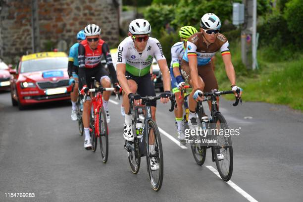 Julien Vermote of Belgium and Team Dimension Data / Oliver Naesen of Belgium and Team AG2R La Mondiale / during the 71st Criterium du Dauphine 2019...