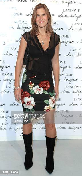 Julienne Davis At The Lancome Colour Designs Awards At The Old Saatchi Gallery In North London