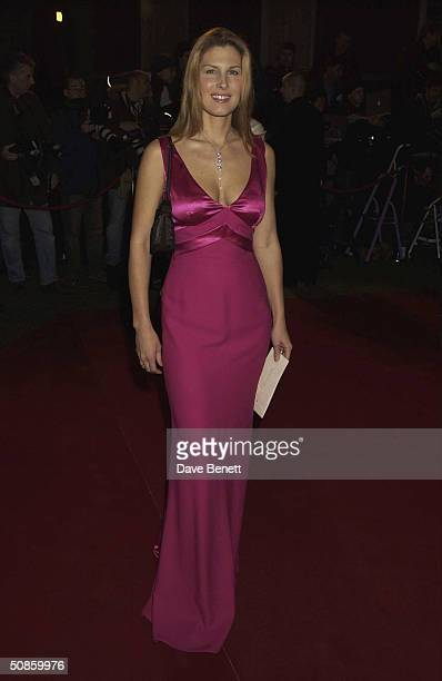 Julienne Davis attends The London Party at Middle Temple sponsored by Variety and UIP in aid of Elton John's Aids Foundation on February 15 2004 in...