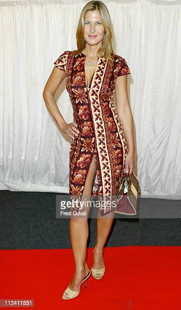 Julienne Davis during ITV's Hell's Kitchen May 28 2004 Arrivals at Brick Lane in London United Kingdom