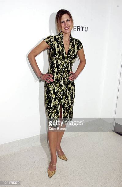 Julienne Davis Launch Party For Vertu Exclusive Mobile Phones Described As A Personal Comunication Instrument At The Serpentine Gallery London