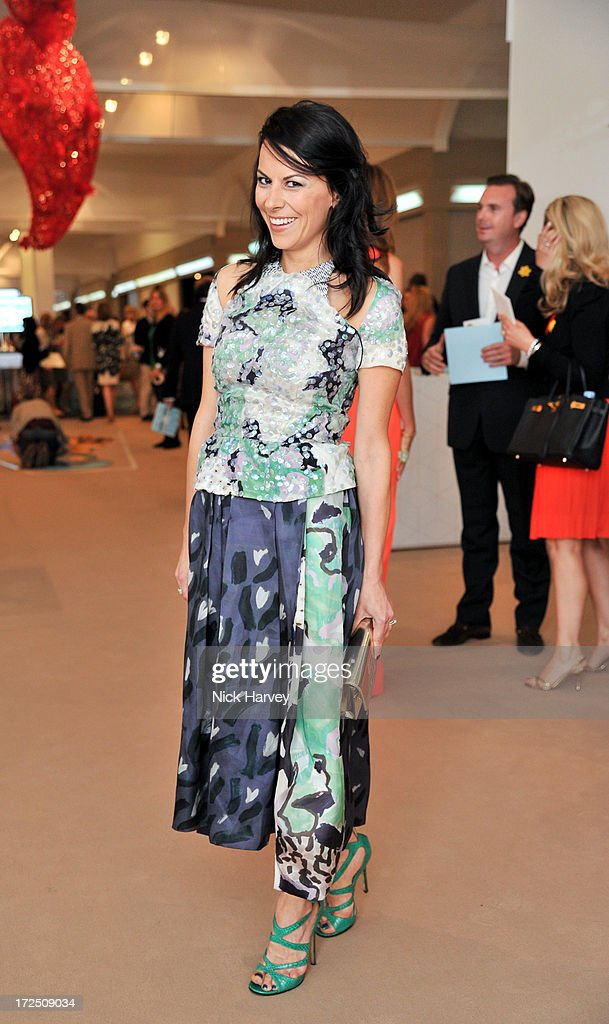 Juliet Angus attends the Masterpiece Midsummer Party in aid of Marie Curie at The Royal Hospital Chelsea on July 2, 2013 in London, England.