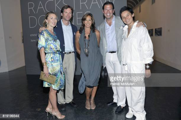 Juliet de Baubigny Trevor Traina Donna Karan Andre de Baubigny and Sonja Nuttall attend PARRISH ART MUSEUM Midsummer Party Honoring BETH RUDIN...