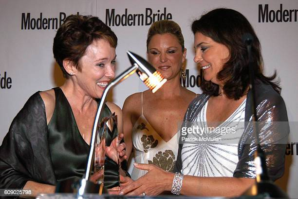 Juliet Huddy and Antonia van der Meer attend MODERN BRIDE Names 25 TRENDSETTERS of 2007 at The New York Palace Hotel on May 9 2007 in New York City