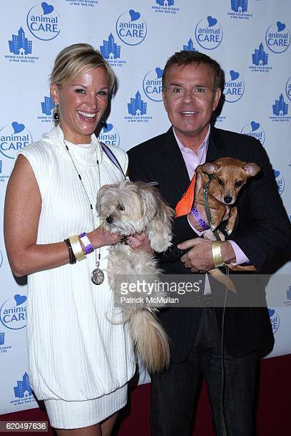 Juliet Huddy and Mike Jerrick attend ANIMAL CARE CONTROL Holds the ANIMAL CARE AFFAIR GALA PARTY FOR THE PAWS at Pressure on September 25 2008 in New...