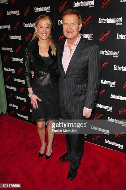 Juliet Huddy and Mike Jerrick attend ENTERTAINMENT WEEKLY host Upfront party at Bowery Hotel NYC on May 13 2008
