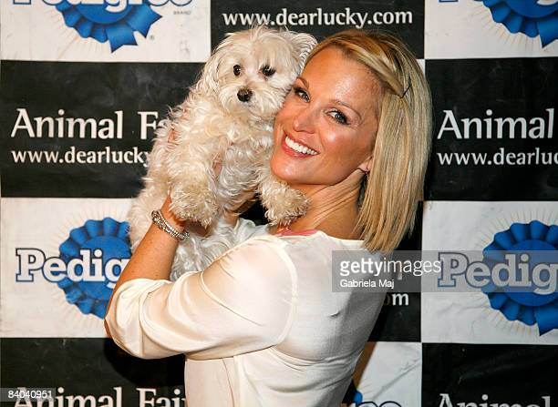 Juliet Huddy attends Animal Fair Magaine's 3rd annual Toys for Dogs event benefiting the Humane Society of New York and Animal Care and Control at...