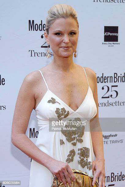 Juliet Huddy attends MODERN BRIDE Names 25 TRENDSETTERS of 2007 at The New York Palace Hotel on May 9 2007 in New York City