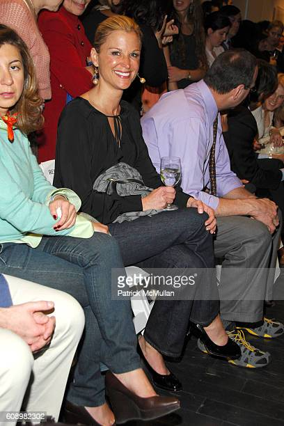 Juliet Huddy attends PROJECT RUFFWAY Fashion Show to Benefit STRAY FROM THE HEART at 650 Sixth Avenue on May 21 2007 in New York City