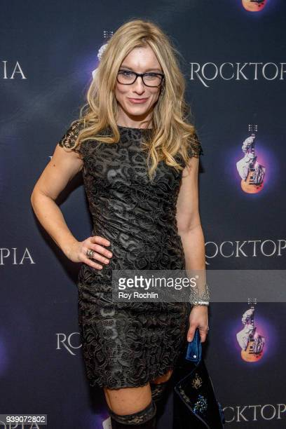 Juliet Huddy attends the Broadway opening night performance after party of Rocktopia at The Hard Rock Cafe on March 27 2018 in New York City