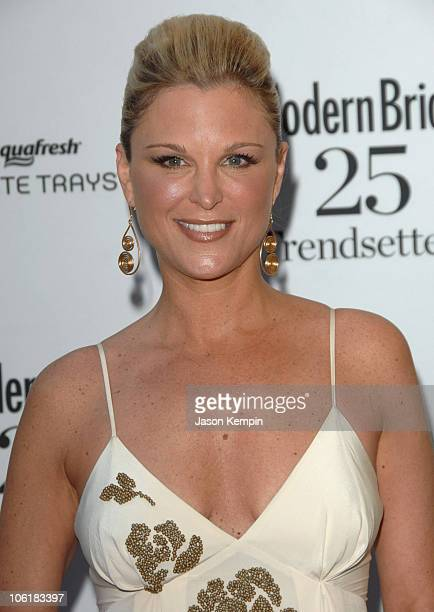 Juliet Huddy during Modern Bride's 25 Trendsetters Of 2007 Awards Dinner Outside Arrivals at The New York Palace Hotel in New York City New York...