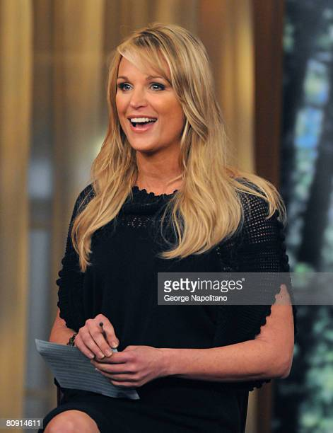Juliet Huddy of The Morning Show With Mike And Juliet on April 29 2008 in New York City