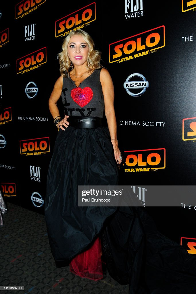 Juliet Mayhew attends The Cinema Society With Nissan & FIJI Water Host A Screening Of 'Solo: A Star Wars Story' at SVA Theatre on May 21, 2018 in New York City.