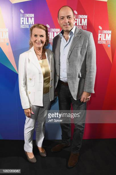 Juliet Mills and Gareth Neame attend the UK Premiere of Tunes Of Glory at the 62nd BFI London Film Festival on October 13 2018 in London England