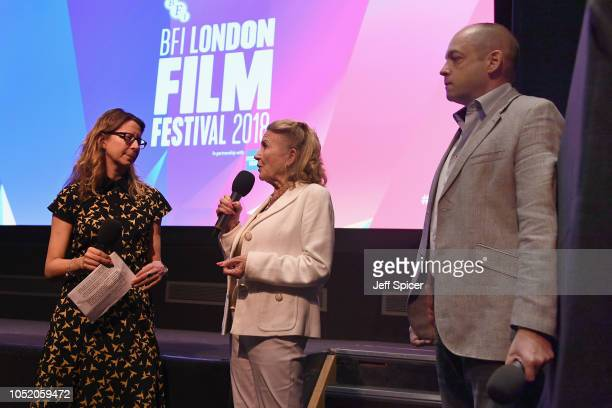 Juliet Mills and Gareth Neame speak ahead of the UK Premiere of Tunes Of Glory at the 62nd BFI London Film Festival on October 13 2018 in London...