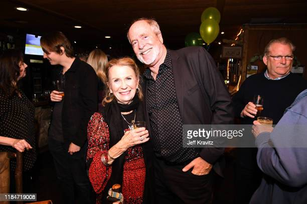 Juliet Mills and Greg Gorman celebrate the 60th Birthday of Maxwell Caufield at the Deer Lodge on November 23 2019 in Ojai California