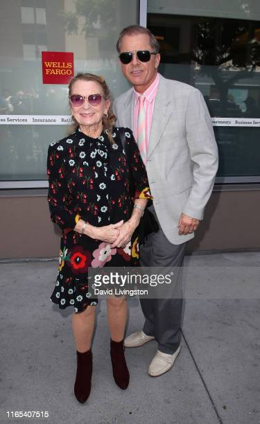 Juliet Mills and Maxwell Caulfield attend Stacy Keach being honored with a Star on the Hollywood Walk of Fame on July 31 2019 in Hollywood California