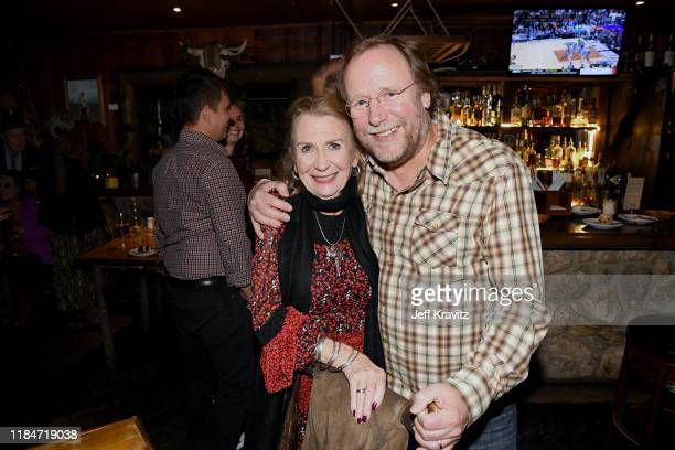Juliet Mills and Sean Alquist celebrate the 60th Birthday of Maxwell Caufield at the Deer Lodge on November 23 2019 in Ojai California