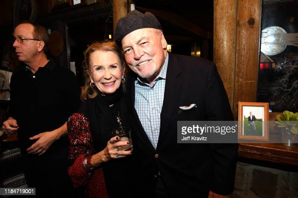 Juliet Mills and Stacey Keach celebrates the 60th Birthday of Maxwell Caufield at the Deer Lodge on November 23 2019 in Ojai California