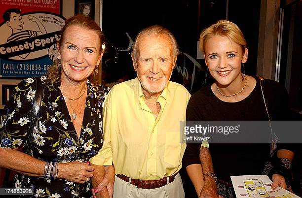 Juliet Mills Sir John Mills and Melissa Caulfield