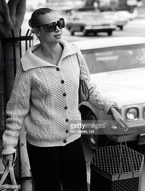 Juliet Prowse during 1971 Academy Awards Rehersals at Dorothy Chandler Pavilion Music Center in Los Angeles California United States