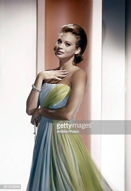 Juliet Prowse in publicity portrait for the film 'CanCan' 1960