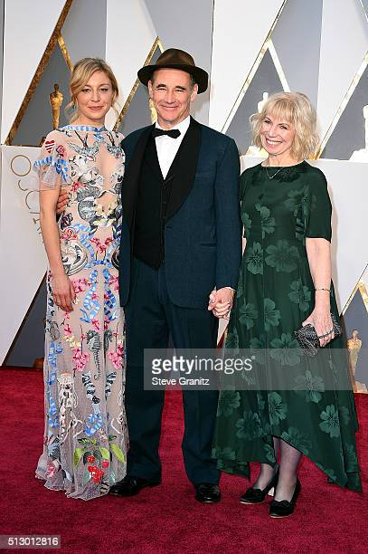 Juliet Rylance actor Mark Rylance and Claire van Kampen attend the 88th Annual Academy Awards at Hollywood Highland Center on February 28 2016 in...