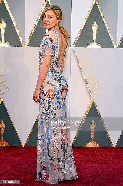 Juliet Rylance attends the 88th Annual Academy Awards at Hollywood Highland Center on February 28 2016 in Hollywood California