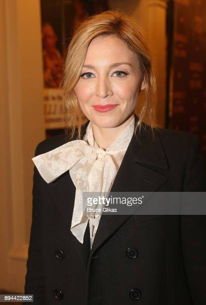 Juliet Rylance poses at the opening night of 'Farinelli and The King' on Broadway at The Belasco Theatre on December 17 2017 in New York City