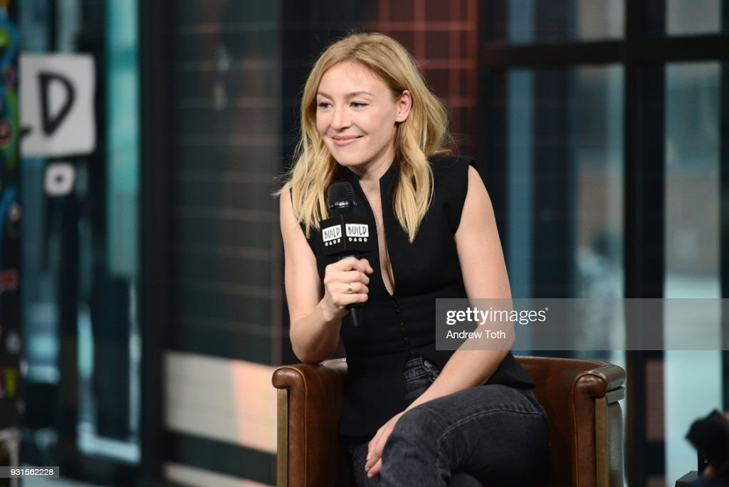 Juliet Rylance visits Build to discuss the series 'McMafia' at Build Studio on March 13, 2018 in New York City.