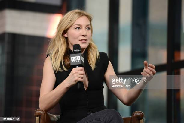 Juliet Rylance visits Build to discuss the series 'McMafia' at Build Studio on March 13 2018 in New York City