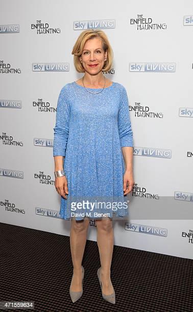 Juliet Stevenson Attends A Vip Screening Of The Enfield Haunting At Bafta On April