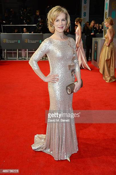 Juliet Stevenson attends the EE British Academy Film Awards 2014 at The Royal Opera House on February 16 2014 in London England