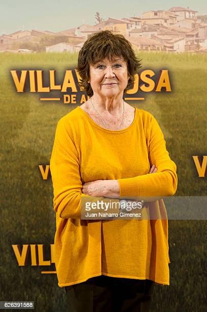 Julieta Serrano attends 'Villaviciosa de al Lado' photocall at Palacio de los Duques Hotel on November 29 2016 in Madrid Spain