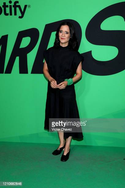 Julieta Venegas attends the 2020 Spotify Awards at the Auditorio Nacional on March 05, 2020 in Mexico City, Mexico.