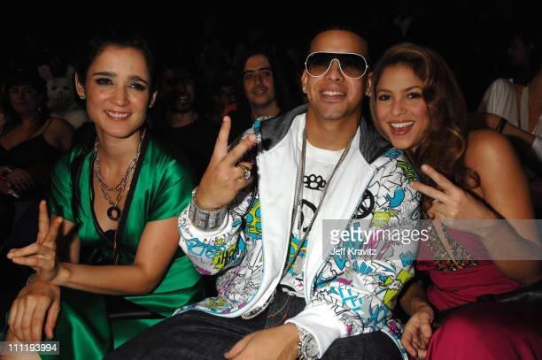 Julieta Venegas Daddy Yankee and Shakira during MTV Video Music Awards Latin America 2006 Audience and Backstage at Palacio de los Deportes in Mexico...