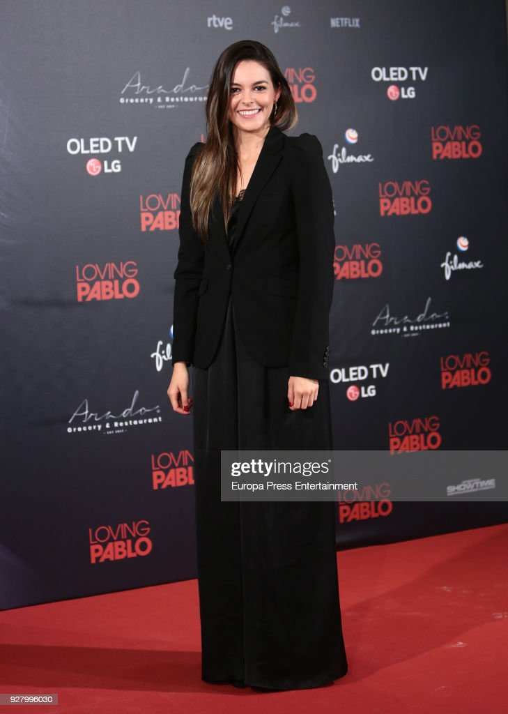 Julieth Restrepo attends 'Loving Pablo' photocall on March 6, 2018 in Madrid, Spain.